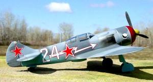 Истребитель Ла-7 Амет-Хана Султана. 9-й Гвардейский ИАП, весна 1945