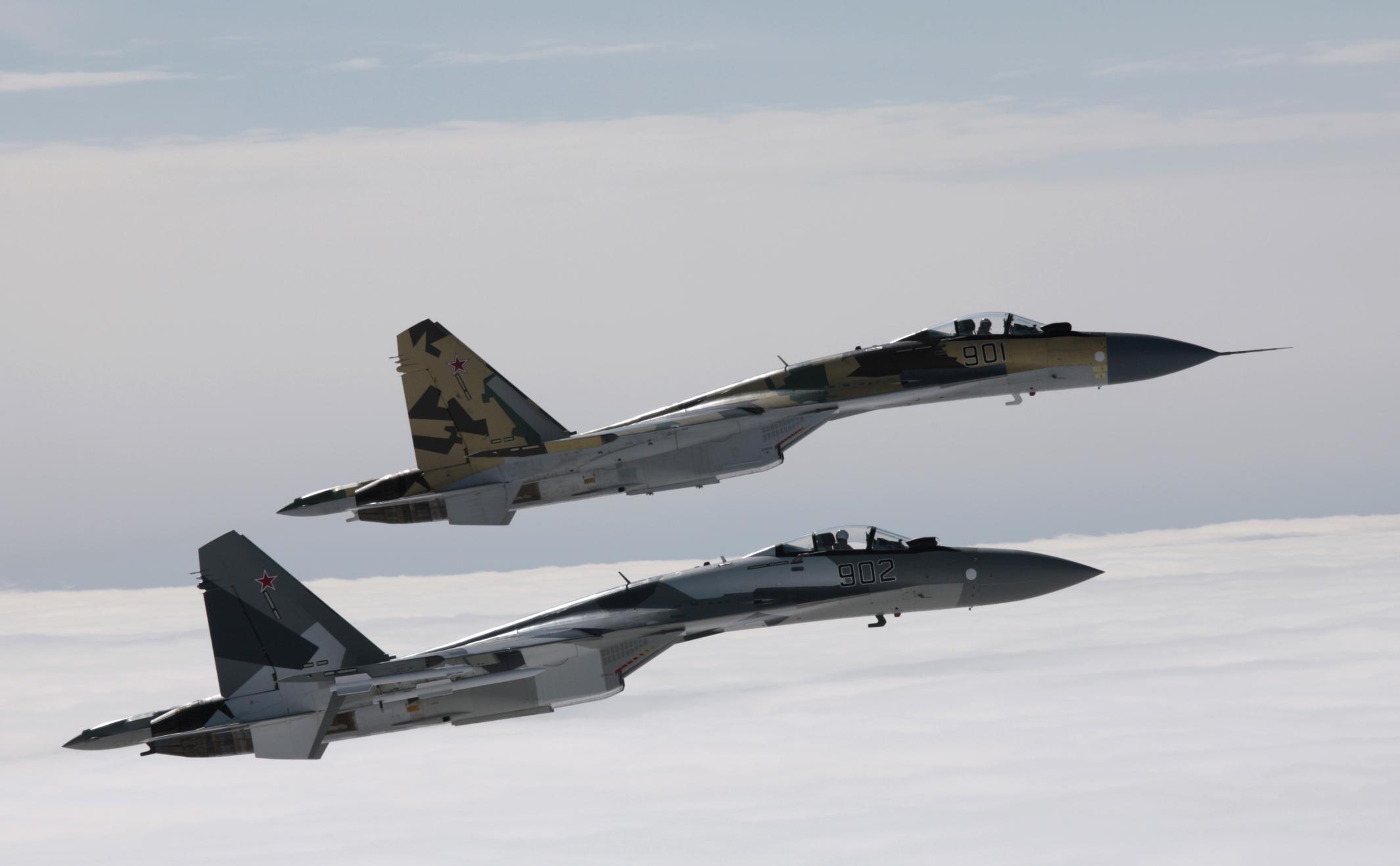 Обои многоцелевой, двухместный, Су-30м2, истребитель. Авиация foto 19