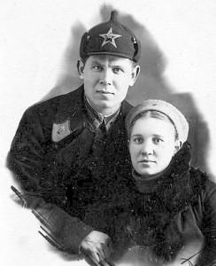 Александр Кочетов с женой