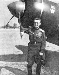 Гвардии майор П. А. Гнидо
