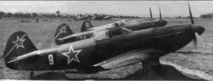 Истребители Як-3 1-го гв. иап
