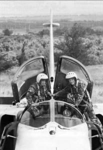 Экипаж Су-24: летчик гв. старший лейтенант Д. В. Смагин и штурман гв. старший лейтенант М. С. Зайцев