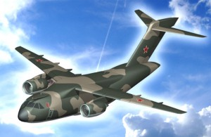 3D модель перспективного Ил-214