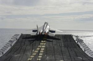 Палубный истребитель МиГ-29КУБ