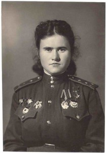Герой Советского Союза Пасько Евдокия Борисовна