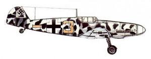 Самолёт Ме-109G-2 Обер - фельдфебеля Рудольфа Мюллера